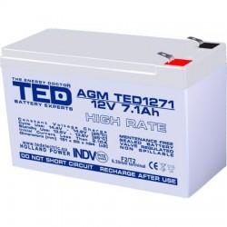 Acumulator Plumb Acid 12V7,1Ah